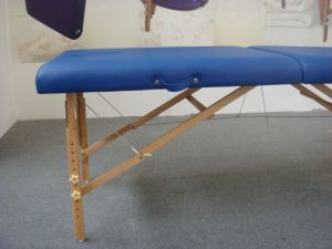 Economy Wooden Portable Massage Table pictures & photos