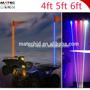 1.2/1.5/1.8m RGB White Yellow LED Antenna Remote Controll Whips LED Light for Car/Truck/ATV/UTV pictures & photos