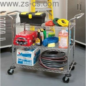 Industrial Rolling Cart/Utility Cart / Metal Trolley (TR481838A3) pictures & photos