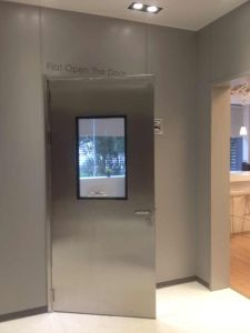 Clean Room Stainless Steel Door pictures & photos