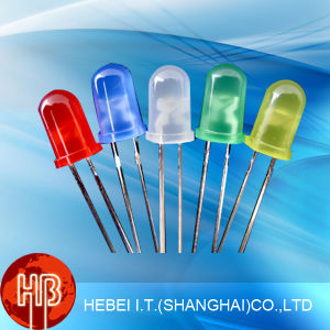 5mm Yellow LED Diode with Clear Lens