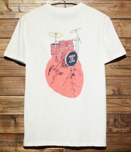 2014 Fashion Custom Short Sleeves Printing T-Shirt for Men (YHR-M13169)