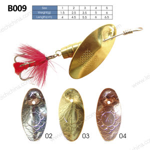 Wholesale Low Price Metal Fishing Spinner Lure pictures & photos