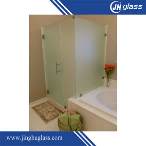 8mm Flat Acid Etch Frosted Glass for Shower Door pictures & photos