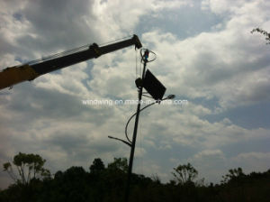 400W24V Vertical Wind & Solar Panel System for Street Light pictures & photos