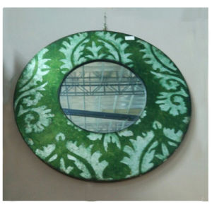 Interior Bedroom Round Decorative Design Mirror (LH-000506) pictures & photos