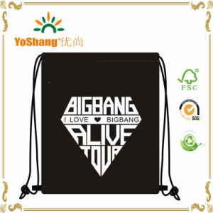 Hot Sell Polyester Drawstring Backpack Tote Drawstring Bag pictures & photos