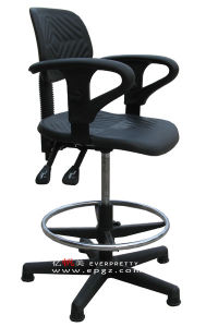 High Quality Lab Furniture Adjustable Lab Leather Chair pictures & photos