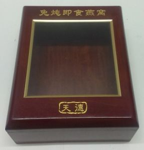 High-End Health Products Wooden Showing Box with Window pictures & photos