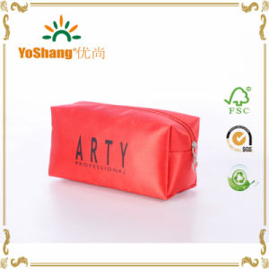 2016 High Quality Travel Zipper Fashion Cosmetic Pouch Bag with Logo Customized pictures & photos
