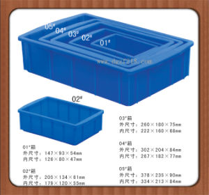 Durable Plastic Storage Box for Small Spare Parts
