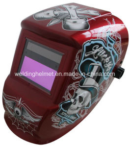 Cr2032 Replaceable Battery/Grinding Mode Welding Helmet (H1190TF) pictures & photos