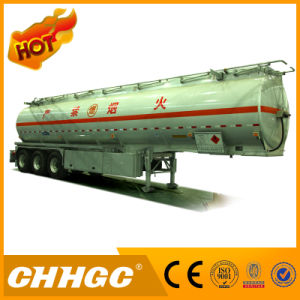 3 Axle Heavy Duty Chemical Liquid Transport Tank Trailer pictures & photos