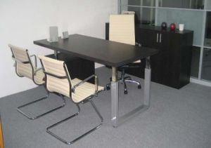 Manager Table with Metal Leg (Ve01) pictures & photos