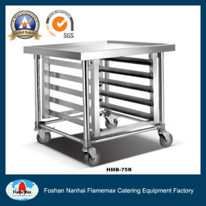 Practical Stainless Steel Mobile Bench with Under Rack (HMB-75R) pictures & photos