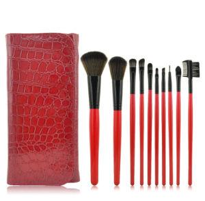 10PCS/Set Popular Makeup Wood Brushes Set Lady Makeup Tools Wholesale Brushes Beauty Set
