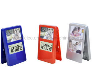 Clip Alarm Clock with Photo Frame (AB-1811)