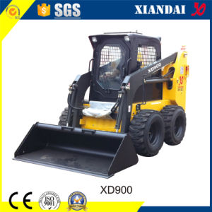 Wheel Skid Steer Loader with Optional Configuration and Attachments pictures & photos