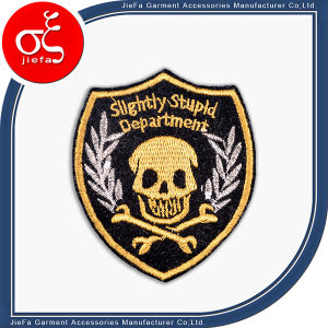 Hot Sale Cheap Custom Embroidery Badge/Patch/Label for Clothing pictures & photos