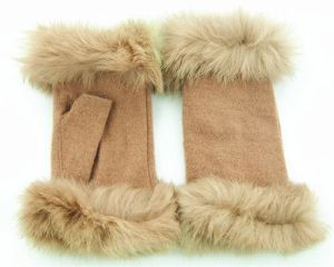 Lady Fashion Wool Gloves (JYG-25021) pictures & photos