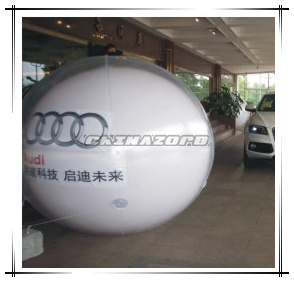 Custom Made Inflatable Roof Top Balloon with Logo Printings