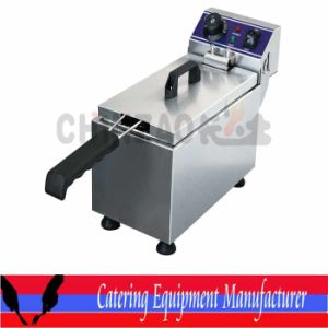 CE Approval Electric French Fry Fryer Machine (DZL-081B) pictures & photos