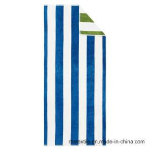Pure Quality Stripe Design Bath Towel pictures & photos