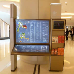 Interior Stand Sign for Shopping Mall pictures & photos