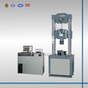 300kn Electro-Hydraulic Servo Universal Testing Machine pictures & photos