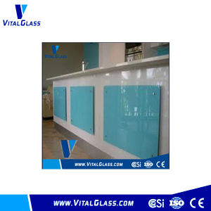 Blue Painted Glass for Furniture (B-P) pictures & photos