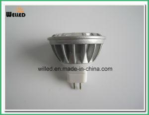 5W 12V Gu5.3 Base High Power Alluminum Alloy LED COB MR16 Spotlight Lamp for Indoor Use with Ce & RoHS pictures & photos