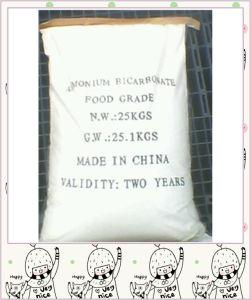 White Crystalline Powder Competitive Price Ammonium Bicarbonate pictures & photos