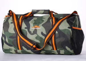 Military Camouflage Round Travel Duffel Sport Bag pictures & photos
