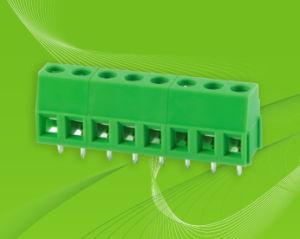 PCB Screw Terminal Block Connector Rising Clamp 5.08mm Pin Spacing Vertical Pin Header (KF128L-5.0/5.08) pictures & photos