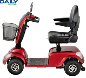 Comfortable Middle Size 4 Wheels Mobility Scooter for Handicapped Dm400 pictures & photos