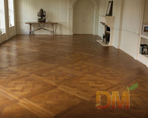 High Quality Chinese Teak Natural Wood Parquet Floors
