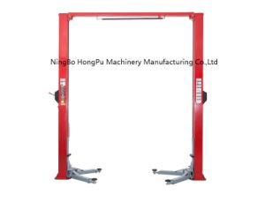 Manufacturing 9000lb Car Lift, HP-L4 Floor Clear Two Post Lift