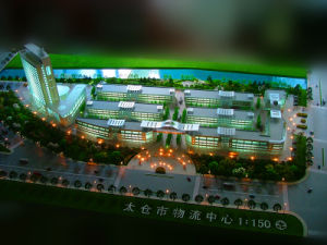 3D Physical Architectural Model Maker_Commercial Model (JW-118) pictures & photos