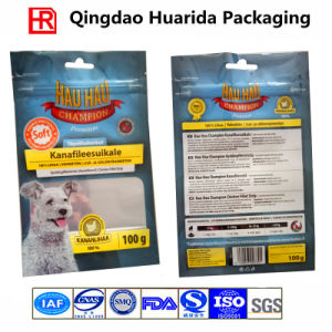 Stand up Dog/Cat/Food Packaging Bag with Zipper and Clear Window pictures & photos