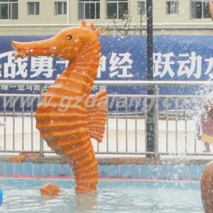 Fiberglass Hippocampal Water Spray (DL018) pictures & photos
