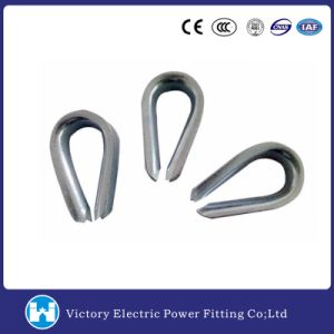 U S Type Galvanized Carbon Steel Wire Rope Thimble pictures & photos