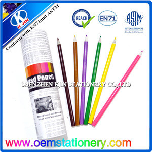 24 Pieces 7 Inch Recycled Paper Color Pencil Set