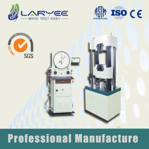 Dial Display Hydraulic Universal Testing Machine (WE-300/600/1000) pictures & photos