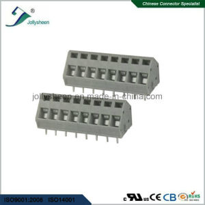 PCB Spring Terminal Block Connector 15A with Grey  Housing pictures & photos