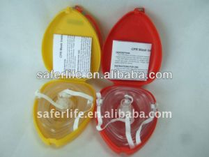 Mouth to Mouth Face Mask with One-Way Valve pictures & photos