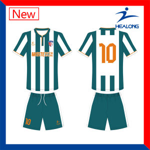 Healong Customized Sublimation Soccer Jersey for Team Club pictures & photos
