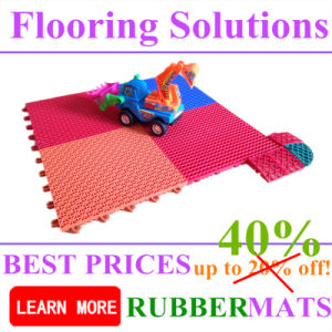 Gym Rubber Flooring Tiles Outdoor Fitness PP Interlock Flooring Mat pictures & photos