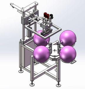 Automatic Balloon Printing Machine Latex Balloon Screen Printing Machine