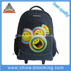 Wholesale School Student Trolley Wheel Children Traveling Backpack Bag pictures & photos