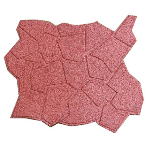 Best Quality SBR Rubber Tiles, Red Outdoor Rubber Matting, Recycled Rubber Flooring pictures & photos